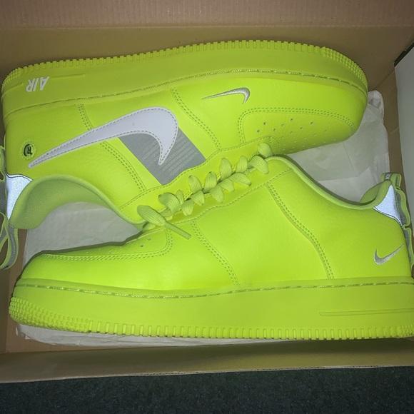 Nike Shoes | Nike Air Force Utility Volt 2 | Poshmark